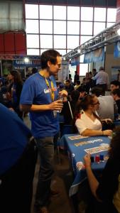 Stand Giochi Uniti al Napoli Comicon 2015