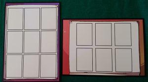 Co-Mix - Le Tavole da 9 e 6 Vignette in base al livello di difficoltà.