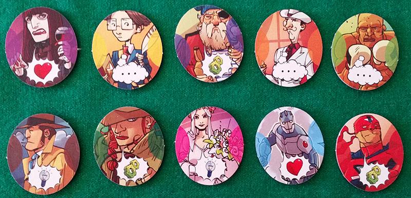 Co-Mix - I 10 personaggi con i gettoni Recensione.