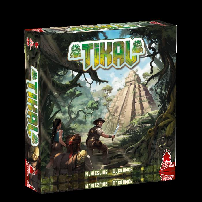 [NanoNews] Tikal e Amun-Re: nuove edizioni da dVGiochi