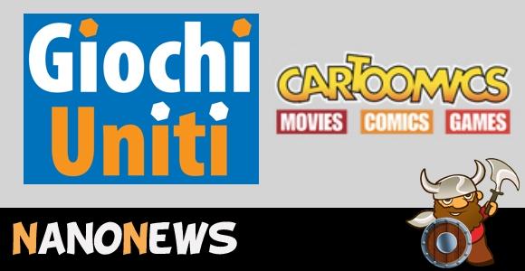 [NanoNews] Giochi Uniti al Cartoomics 2017 di Milano