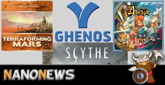 Novità Ghenos Games 2017